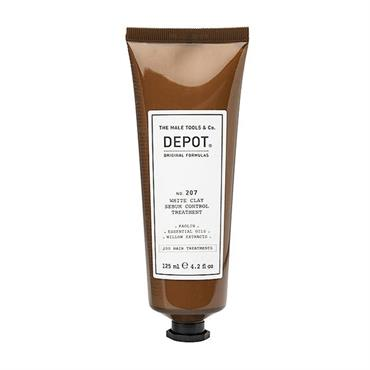 DEPOT 207 WHYTE CLAY SEBUM CONTRO TREATMENT 125ML