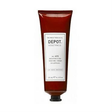 DEPOT 405 MOISTURIZING SHAVING CREAM BRUSHLESS 125ML