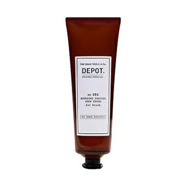 DEPOT 404 SOOTHING SHAVING SOAP CREAM FOR BRUSH 125ML