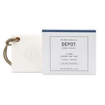 DEPOT 602 SCENTED BAR SOAP CLASSIC COLOGNE 100GR