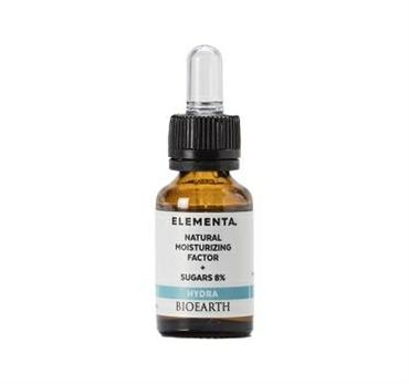 BIOEARTH ELEMENTA NATURAL MOISTURIZING FACTOR+SUGARS 8% 15ML