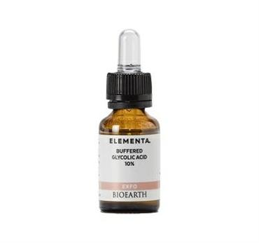 BIOEARTH ELEMENTA BUFFERED GLYCOLIC ACID 10% 15ML