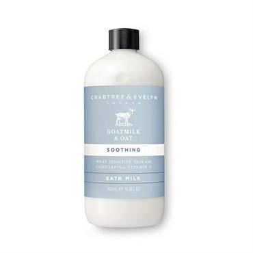 CRABTREE & EVELYN GOATMILK & OAT B.SCHIUMA 500ML