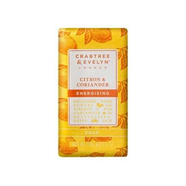 CRABTREE & EVELYN CITRON & CORIANDER SAPONE 158G